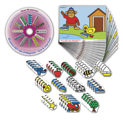 TIRI-502 - 60 piece Magnet Set